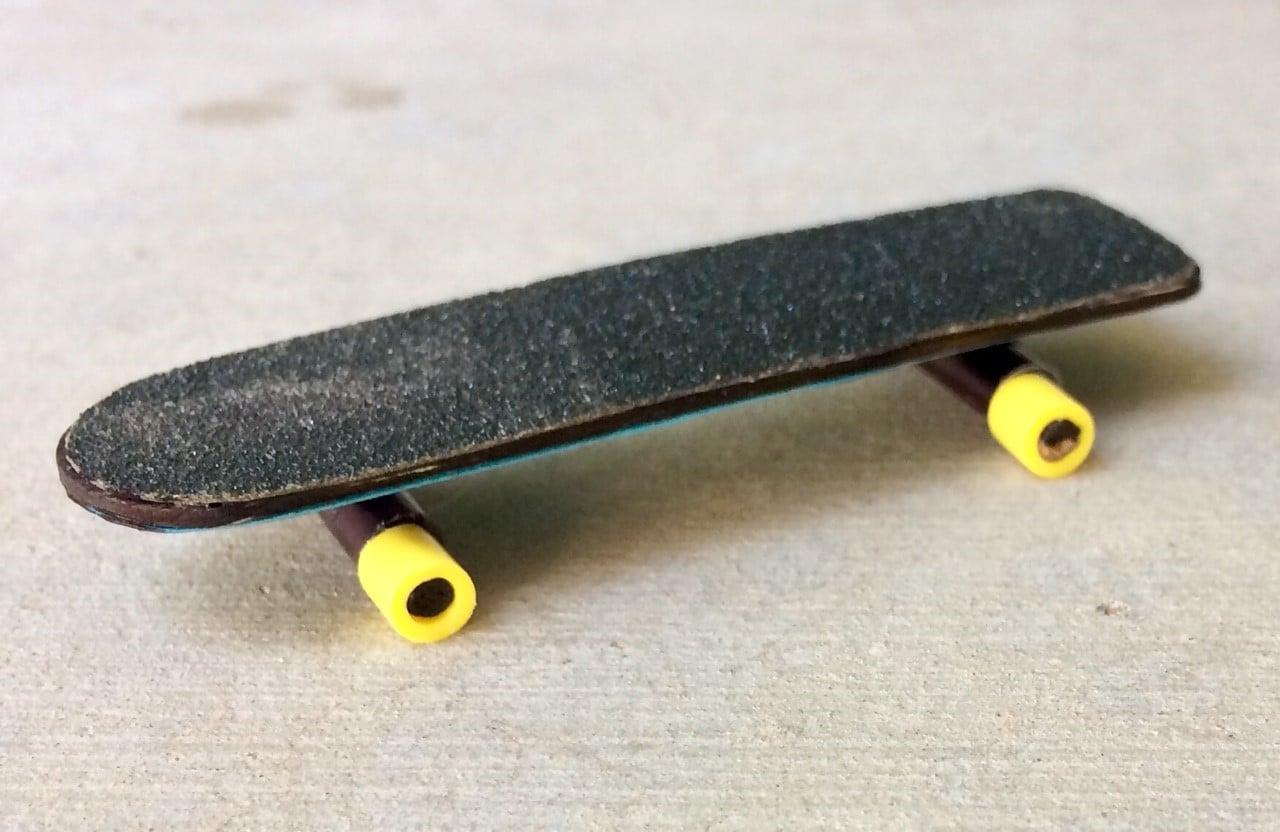 How To Make A Miniature Skateboard