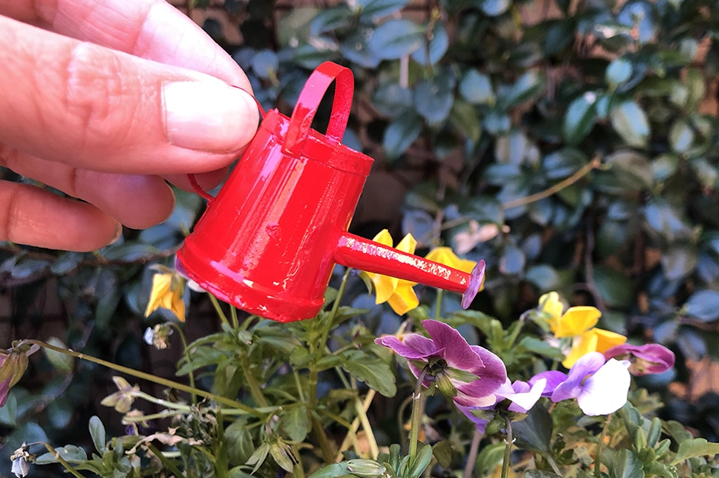 How To Make a Miniature Watering Can