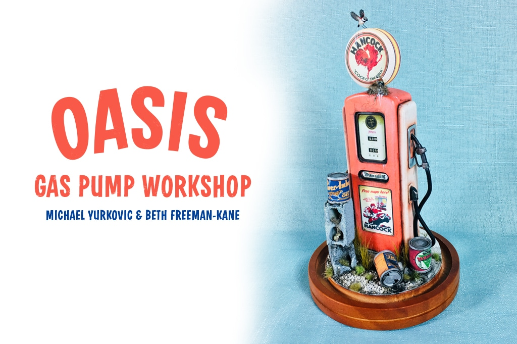 oasis miniature gas pump workshop