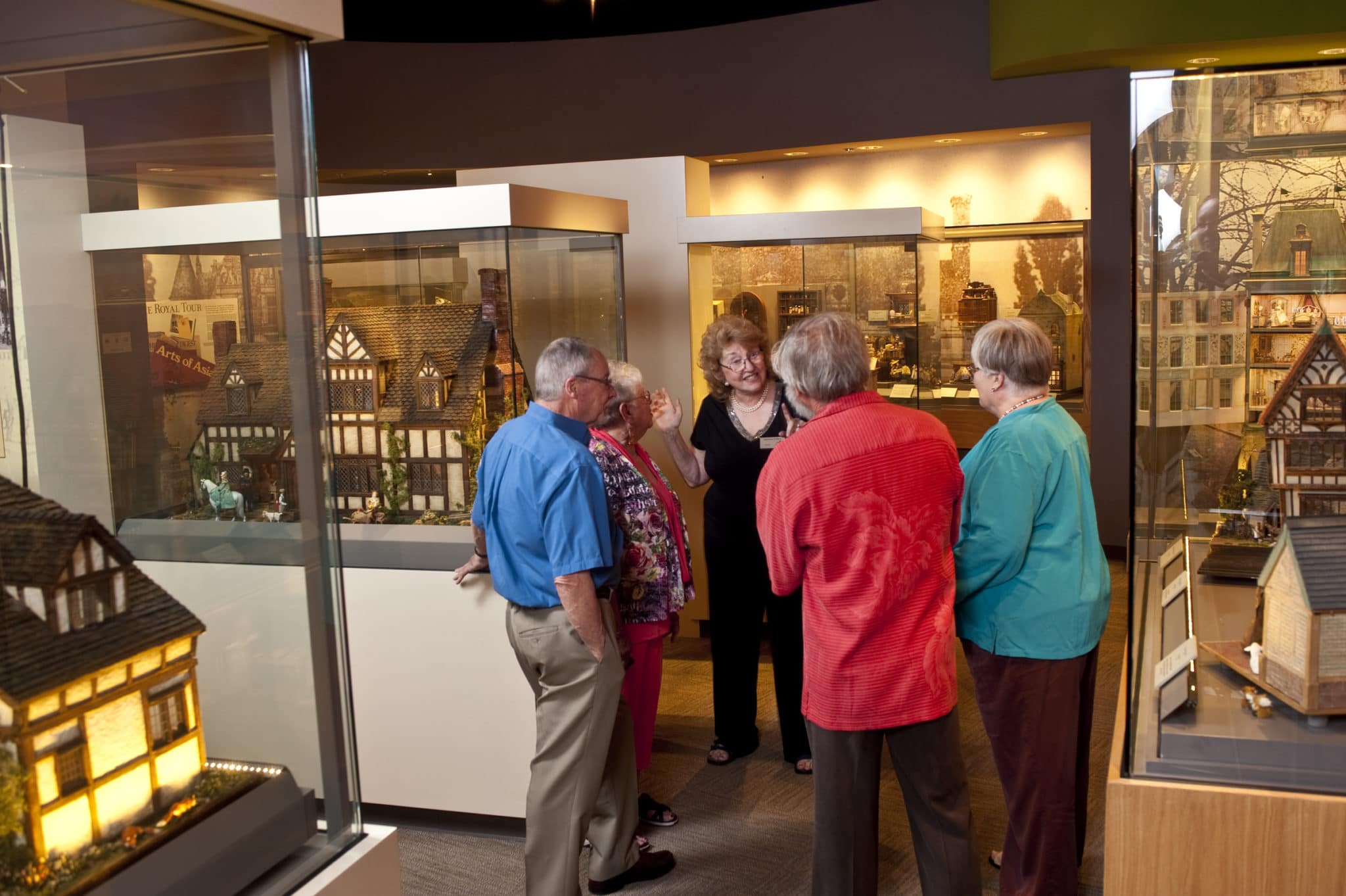 Group Tour at the Museum