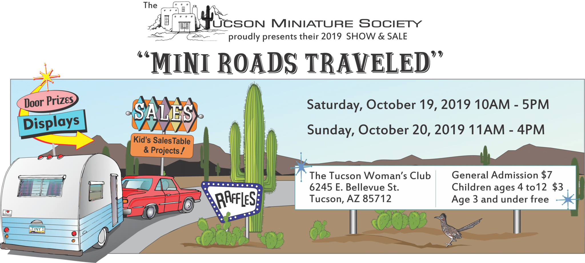 Tucson Miniature Society Show & Sale