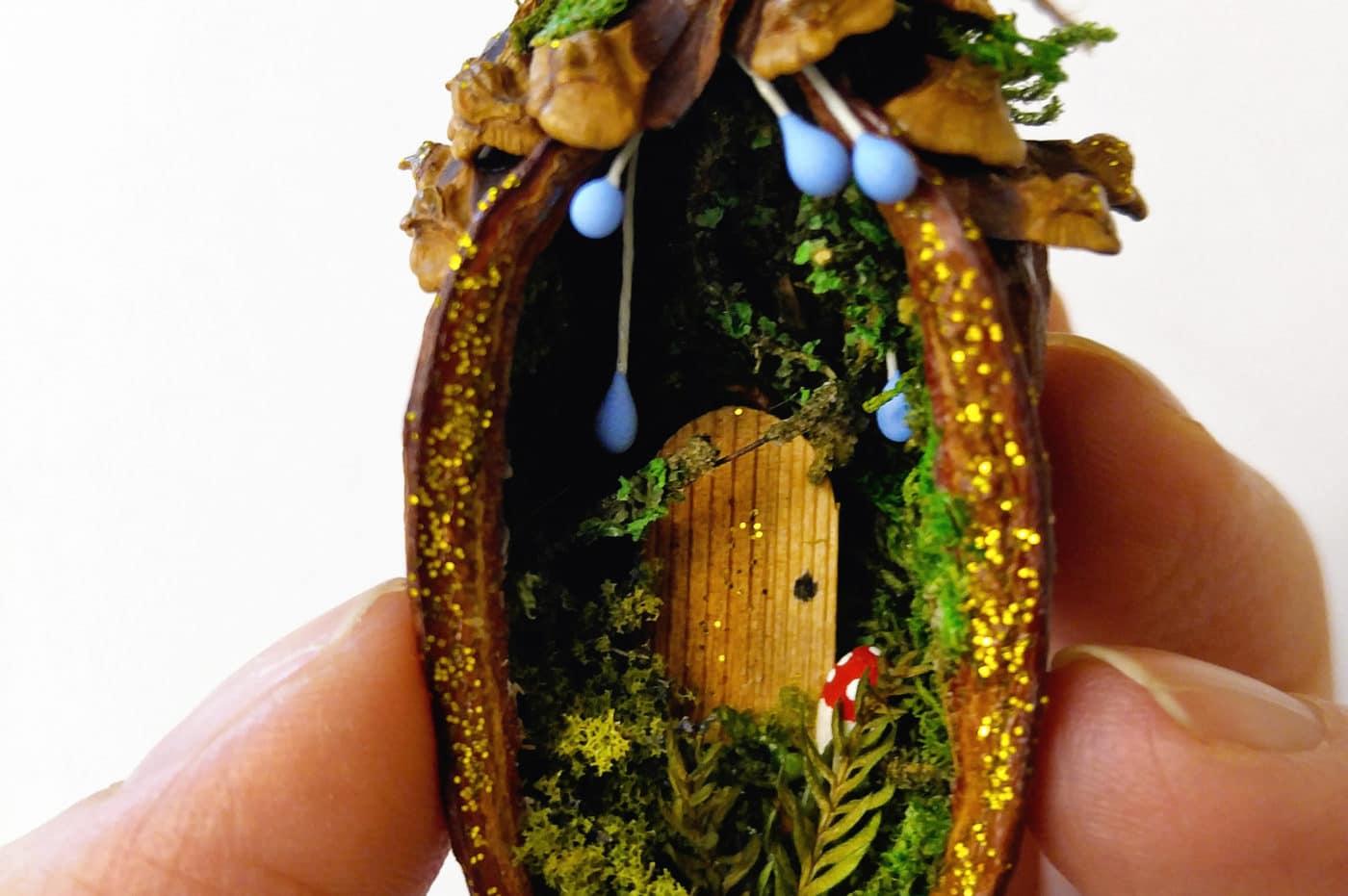 How To Make Tiny Fairy Doors