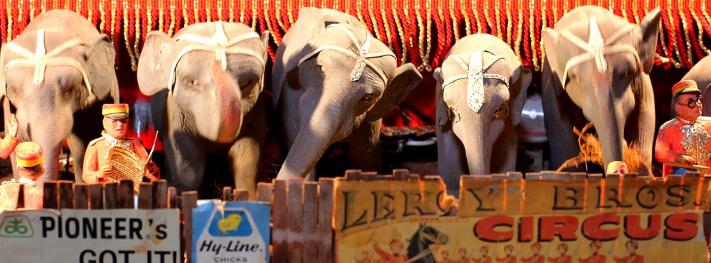 Circus Parade Homepage Banner