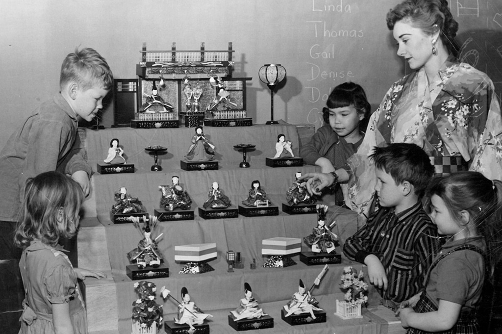Girls' Day Display 1960s