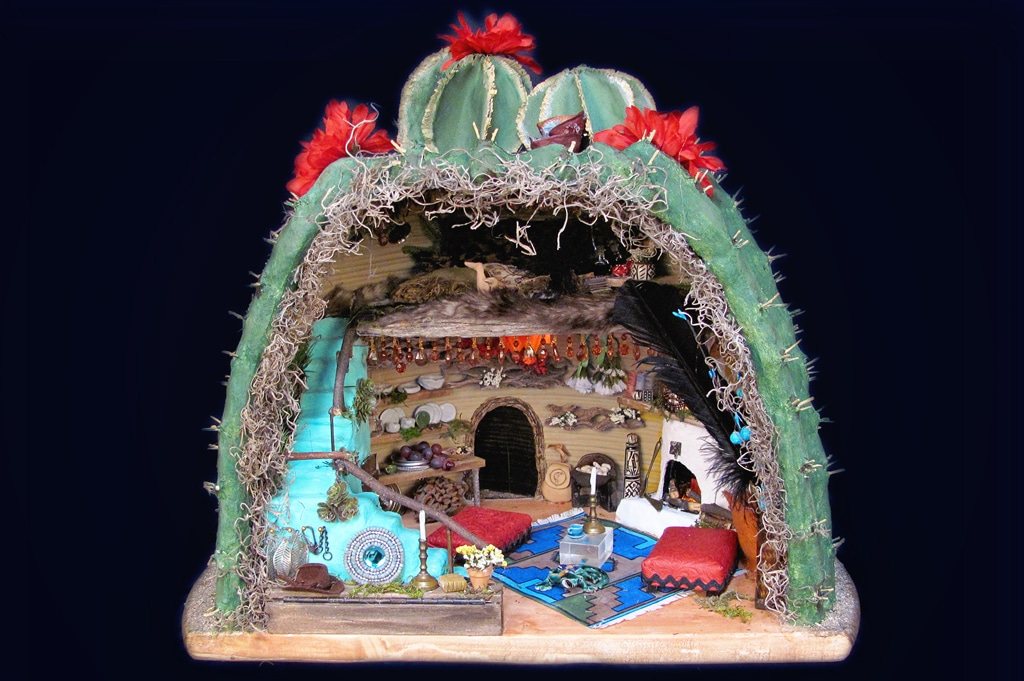 Fanciful Fairy House Interior