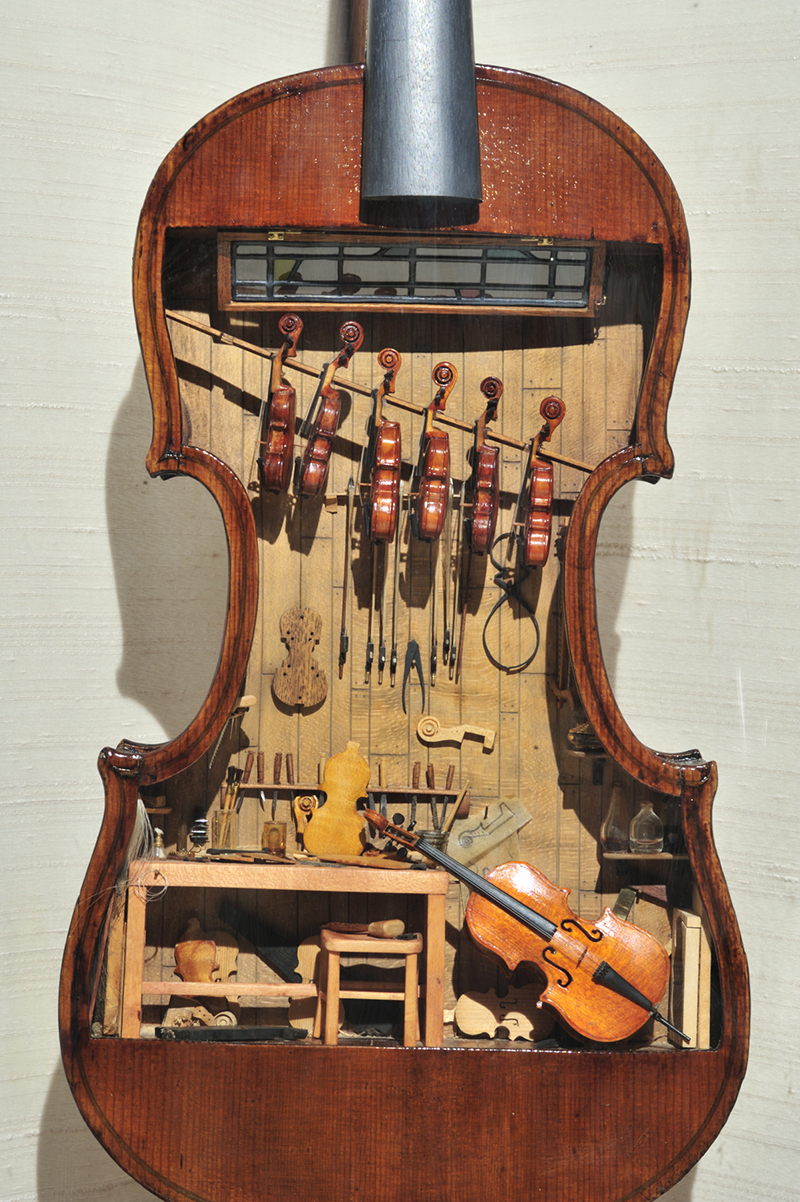 18th Century Violin Maker's Shop featured image