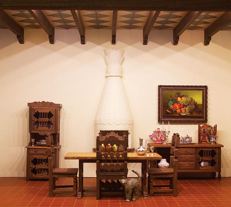 Colonial Mexican Dining Room