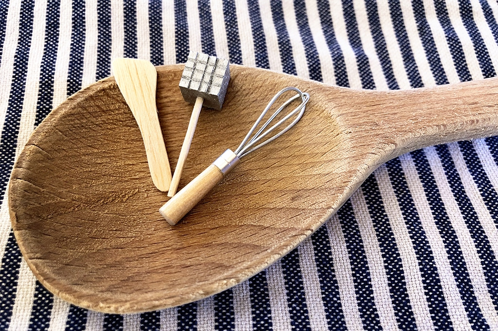 How To Make Miniature Cooking Utensils