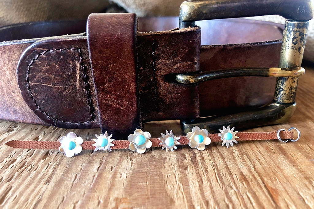 How To Make a Miniature Concho Belt