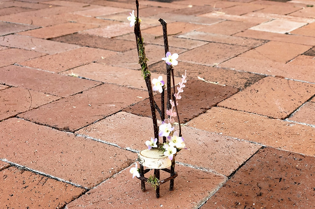 How To Make a Fairy Chair