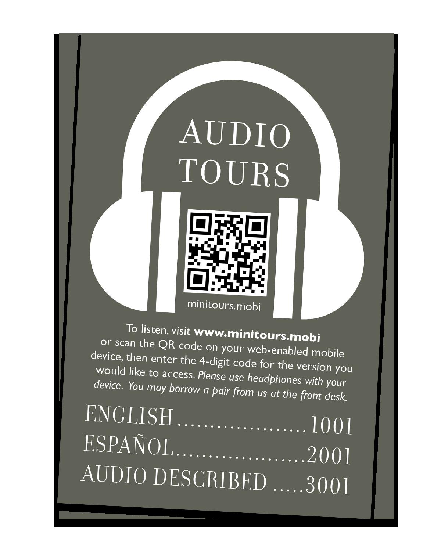 Audio Tours Citation Sample
