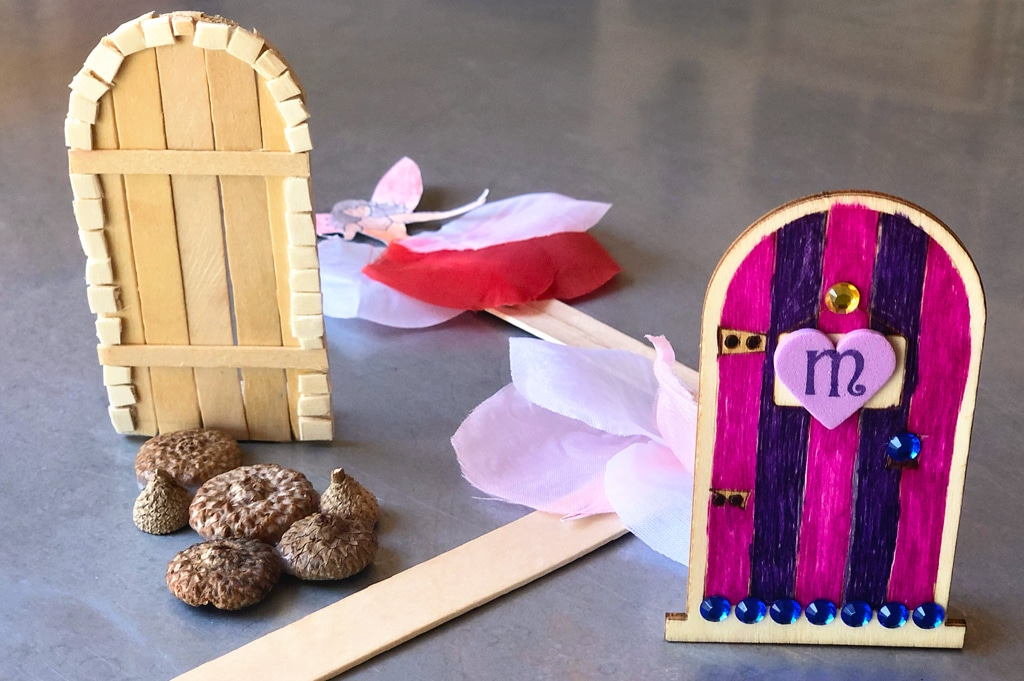 Kids Create At Home Fairy Door