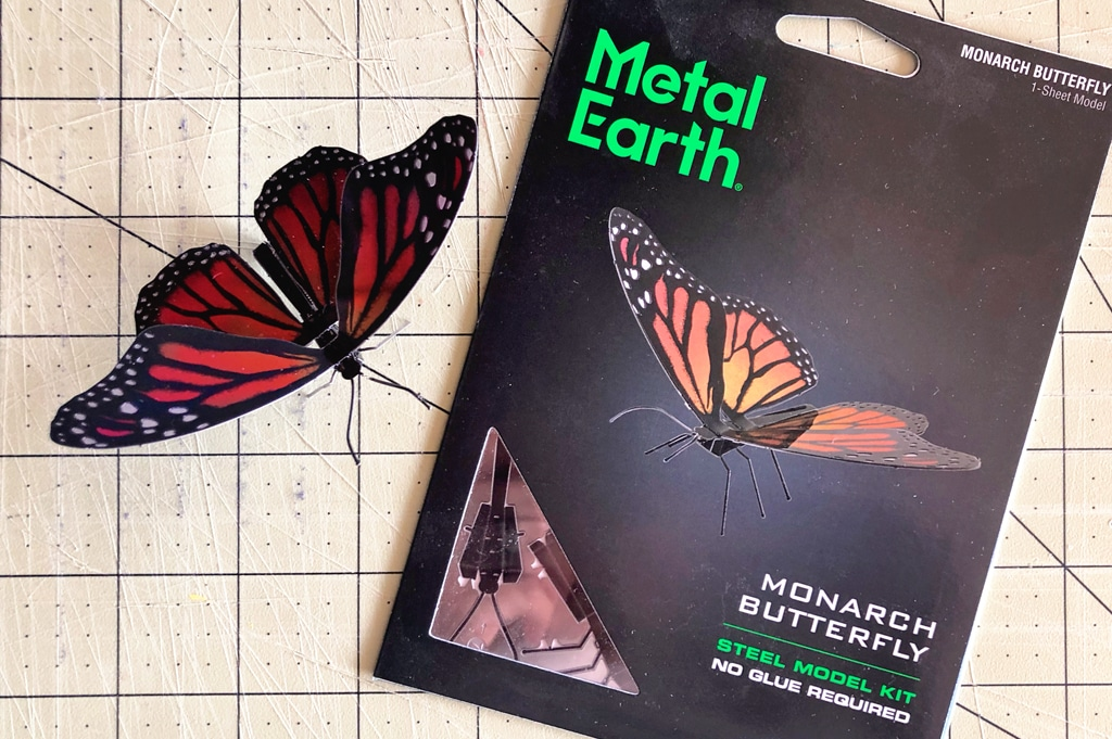 Metal Earth Butterflies featured image