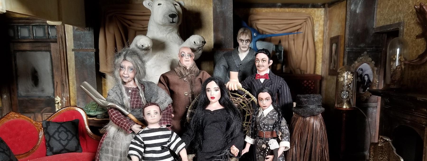 Addams Family Mini Mansion banner