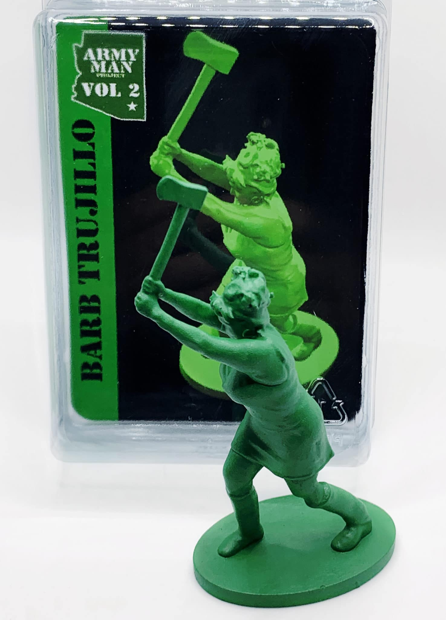 Army Man Project Axe Thrower